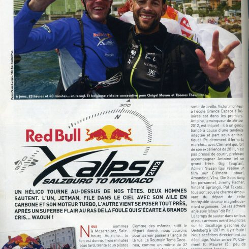 Parapente mag aug sept 2013